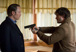 Mads Mikkelsen and Hugh Dancy, Hannibal | Photo Credits: Brooke Palmer/NBC