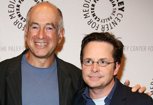 Gary David Goldberg and Michael J. Fox | Photo Credits: Astrid Stawiarz/Getty Images