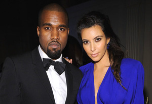 Kanye West, Kim Kardashian | Photo Credits: Dimitrios Kambouris/WireImage/Getty Images