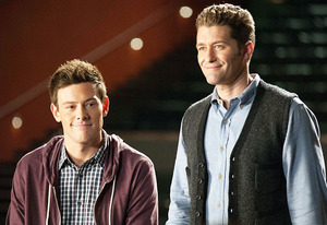 Cory Monteith and Matthew Morrison | Photo Credits: Eddy Chen/FOX