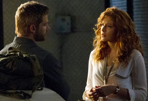 Mike Vogel and Rachelle Lefevre | Photo Credits: Kent Smith/Showtime