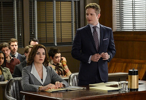 Matt Czuchry, Julianna Margulies | Photo Credits: David Giesbrecht/CBS