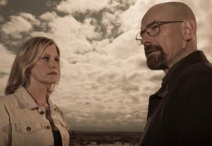 Anna Gunn, Bryan Cranston | Photo Credits: Frank Ockenfels/AMC