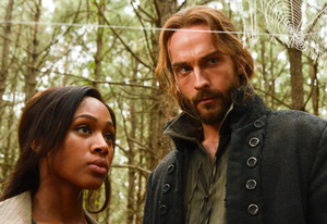 Nicole Beharie, Tom Mison | Photo Credits: Brownine Harris/FOX