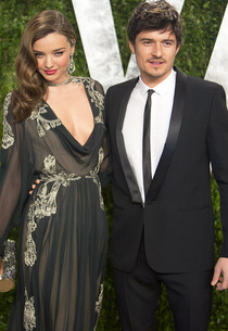 Miranda Kerr and Orlando Bloom | Photo Credits: Adrian Sanchez-Gonzalez/AFP/Getty Images