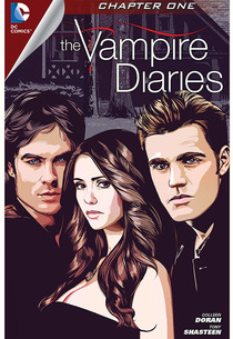 The Vampire Diaries comic book | Photo Credits: DC Entertainment