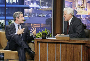 Andy Cohen and Jay Leno | Photo Credits: Stacie McChesney/NBC