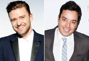 Justin Timberlake, Jimmy Fallon | Photo Credits: Denise Truscello/WireImage, Jim Spellman/WireImage