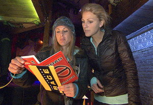Caroline and Jennifer, Amazing Race | Photo Credits: CBS