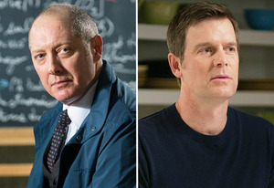 James Spader, Peter Krause | Photo Credits: Eric Liebowitz/NBC, Colleen Hayes/NBC