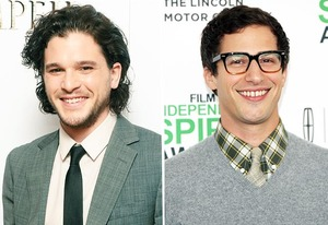 Kit Harrington, Andy Samberg | Photo Credits: Corbis