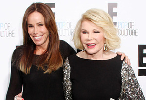 Melissa Rivers, Joan Rivers | Photo Credits: Corbis
