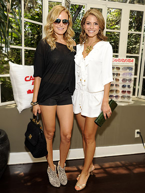 Malin Akerman, Maria Menounos Stun at Chateau Marmont