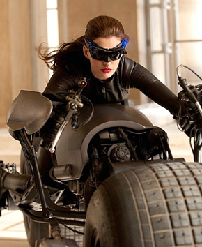 FIRST LOOK: See Anne Hathaway as Catwoman in The Dark Knight Rises