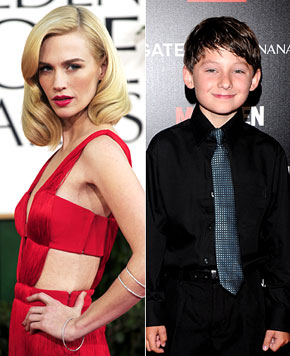 "Mad Men Kid Star: ""Be Careful Around January Jones"""