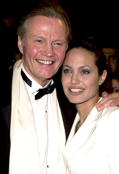 "Jon Voight: Angelina Jolie ""Moves Me Deeply"""
