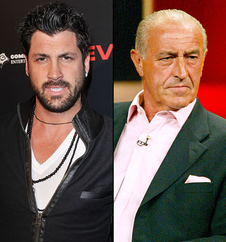 Maksim Chmerkovskiy vs. Len Goodman: Dancing With the Stars Pros Take Sides