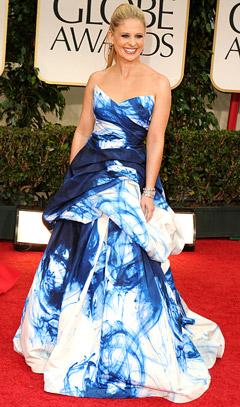 Sarah Michelle Gellar's Daughter Chose Her Golden Globes Gown