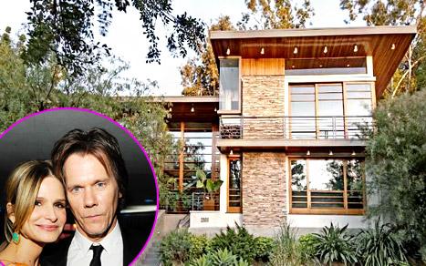PICS: See Inside Kevin Bacon, Kyra Sedgwick's New $2.5 Million Home