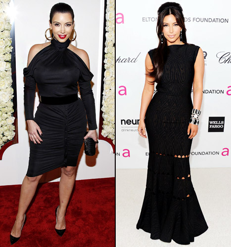 Which Black Dress Looked Better on Kim Kardashian?