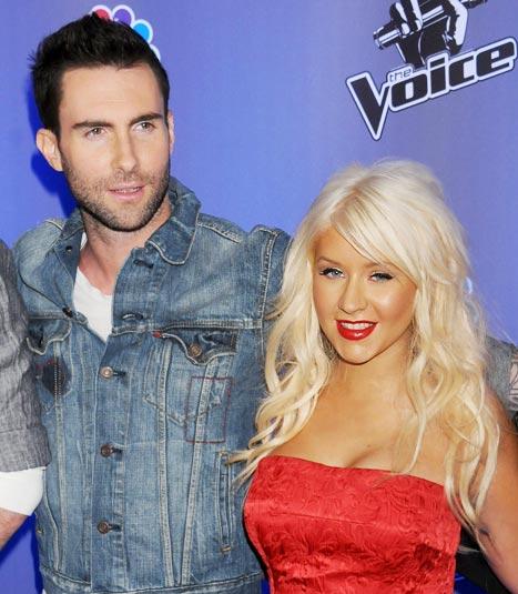 Christina Aguilera Teases Adam Levine for Fragrance Hypocrisy