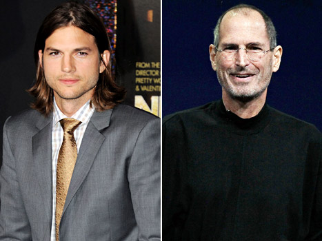 Ashton Kutcher to Play Steve Jobs in Biopic