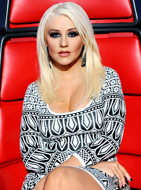 All About Christina Aguilera's Look On The Voice Last Night