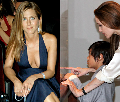 Angelina Jolie vs. Jennifer Aniston: Whose Brad Pitt Engagement Ring Is Better?