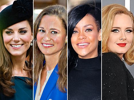 Kate and Pippa Middleton, Rihanna, Adele Named Among Most Influential People of 2012