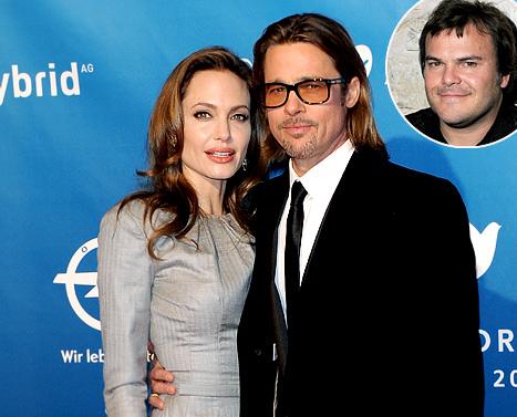 Jack Black Tells Angelina Jolie: Sex Gets Better After Marriage