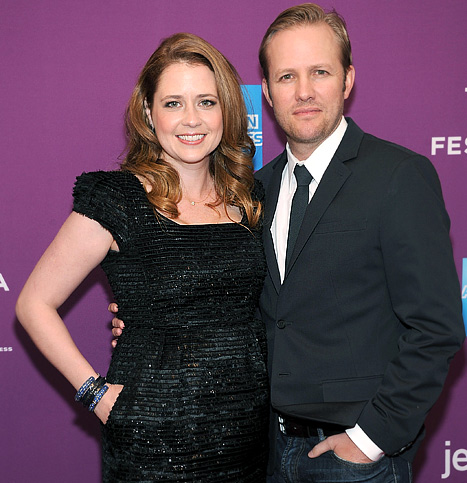 "Jenna Fischer's Son Weston Is ""Starting to Crawl"""