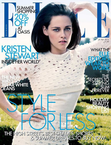 See Kristen Stewart's Gorgeous Mad Men Look on Elle Cover