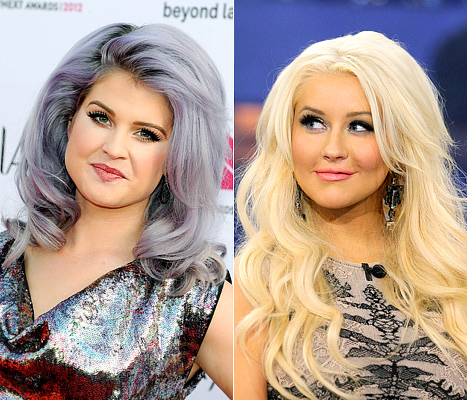 Kelly Osbourne Ends Christina Aguilera Feud