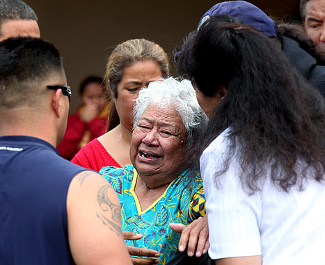 """Junior Seau Found Dead: Mother Weeps """"Take Me, Leave My Son"""""""