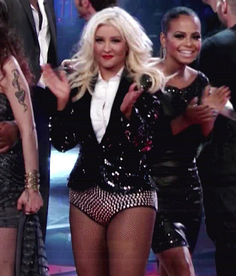 Christina Aguilera's Studded Hot Pants: Love or Hate?