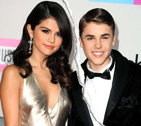 Justin Bieber, Selena Gomez Split