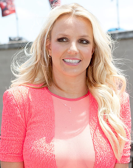 Britney Spears Walks Off X-Factor Set--Again!