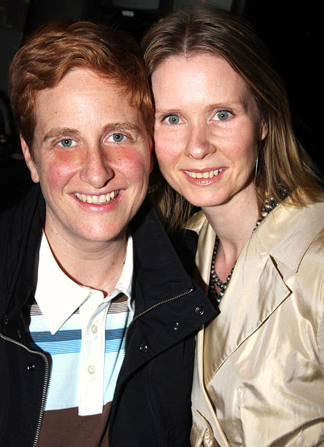 Cynthia Nixon Marries Her Longtime Partner Christine Marinoni