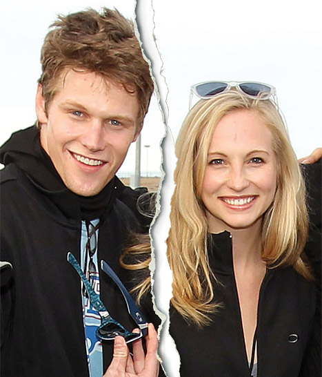 The Vampire Diaries' Candice Accola, Zach Roerig Split!