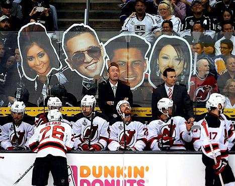 New Jersey Devils Players Taunted With Jersey Shore Star Signs