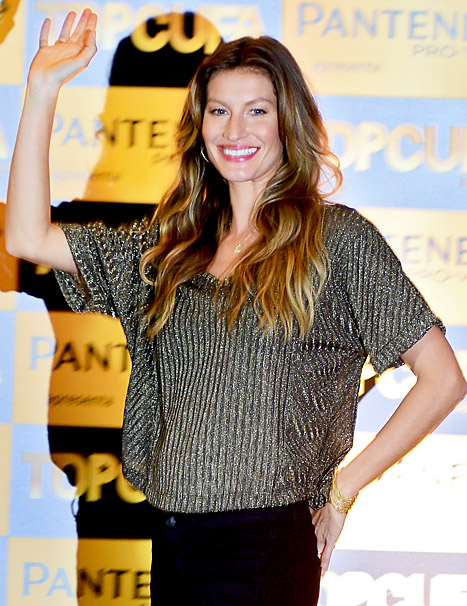 Gisele Is Pregnant With Second Child -- See Her Tiny Bump!
