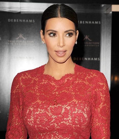 Kim Kardashian Nearly Involved in 10-Car Accident