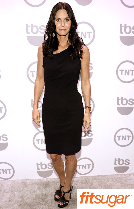 How Courteney Cox, 48, Stays in Shape