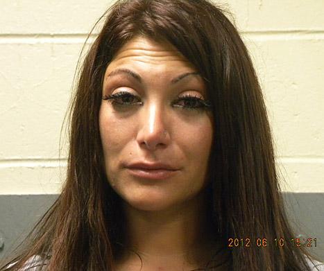 See Jersey Shore Star Deena Cortese's Mugshot