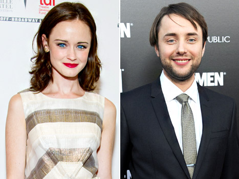 Alexis Bledel Dating Mad Men Costar Vincent Kartheiser: All the Details!