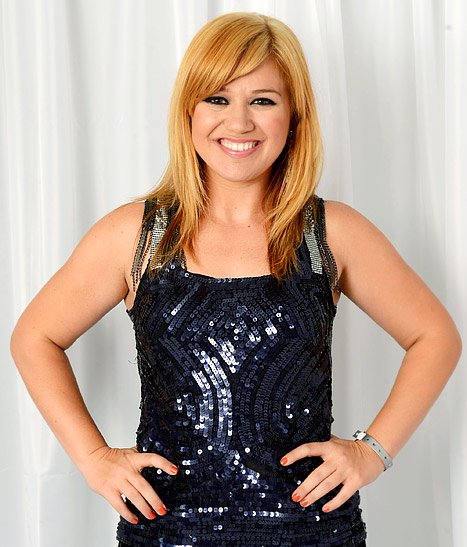 Kelly Clarkson Talks Weight Loss, Being a Blonde