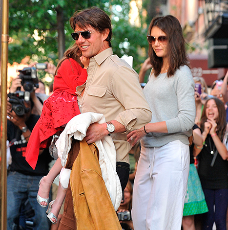 Inside Tom Cruise, Katie Holmes' Last Family Outing With Suri, 6