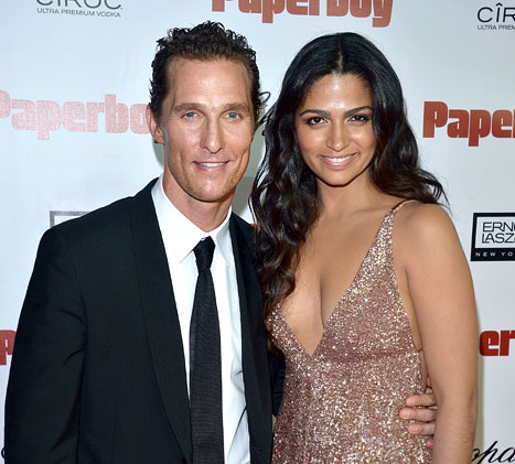 Matthew McConaughey, Wife Camila Expecting Baby No. 3!