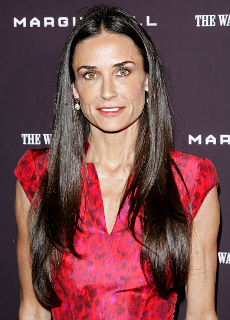 Demi Moore Is Not Speaking to Her Daughters