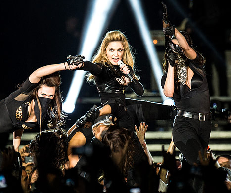 Madonna Faces Lawsuit Over Use of Swastika in Concert Video